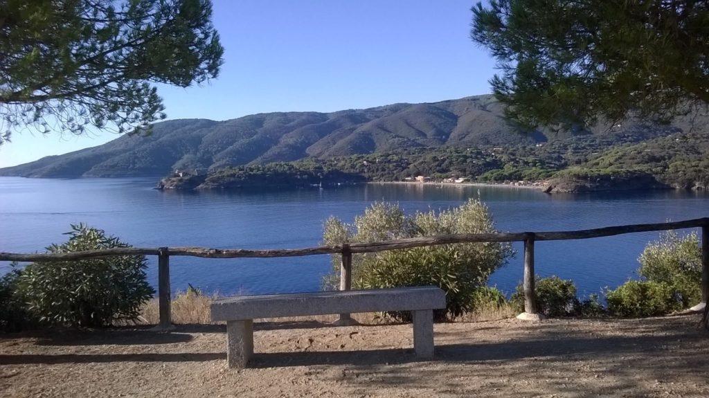 Passeggiata Carmignani Porto Azzurro Elba