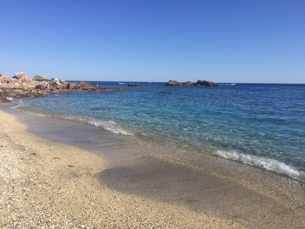 spiaggia del cannello isola d'elba
